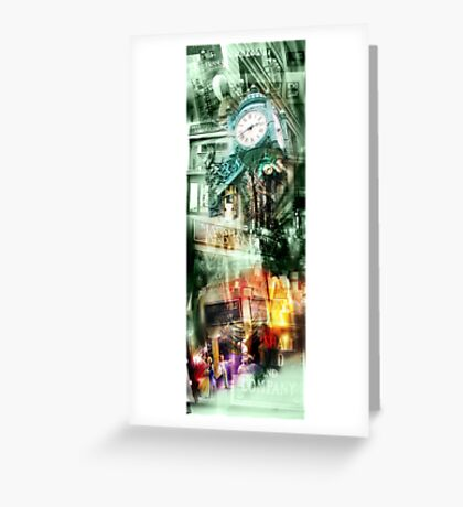 marshall field's chicago Greeting Card