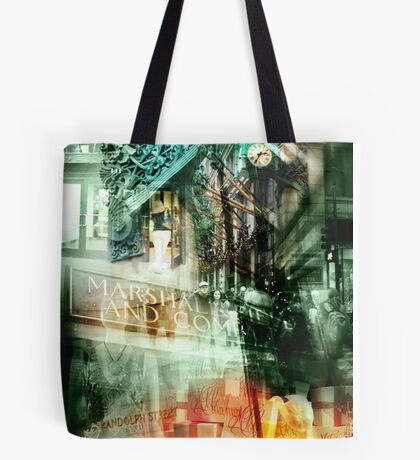 marshall field's chicago Tote Bag