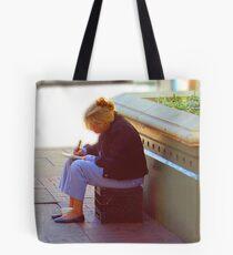 SIDEWALK WORDSMITH Tote Bag