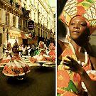 Brazilian Dancers by Louise Fahy