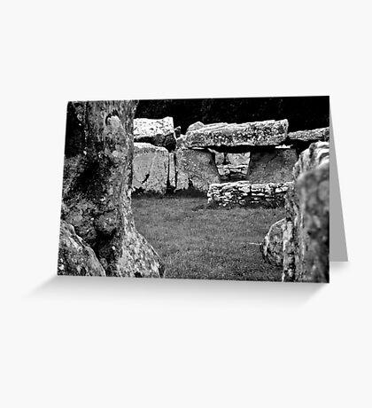 Creevykeel Court Tomb Greeting Card