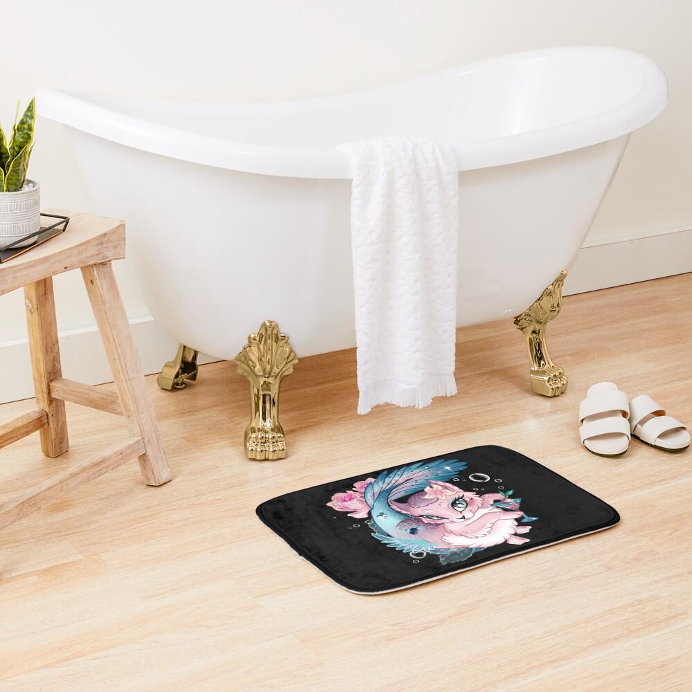 Pretty Little Purrmaid Bath Mat
