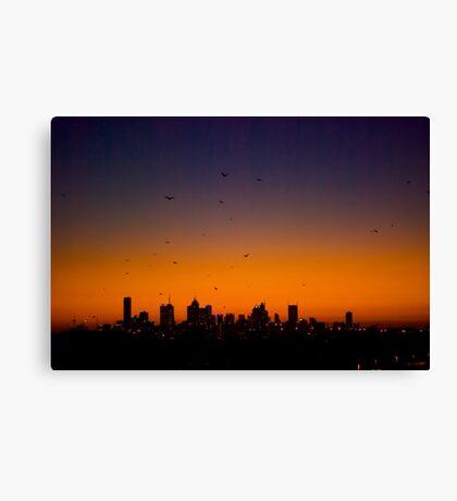 Melbourne Twilight Canvas Print