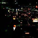 traffic at night by scarlettheartt