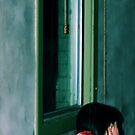 woman by the window by scarlettheartt