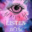 Listen to the Universe by Kelley Frank
