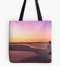 Sunset at Portarlington Tote Bag