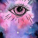 All-Seeing Eye by Kelley Frank