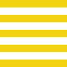 Stripes (Parallel Lines) - Yellow White by sitnica