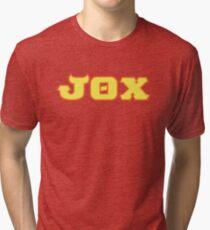 Jaws Theta Chi (Monsters U) Tri-blend T-Shirt