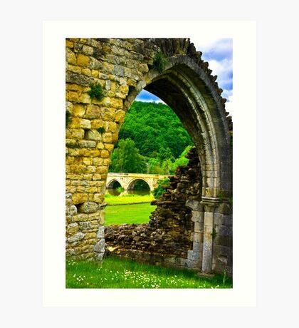 Through the Archway Art Print