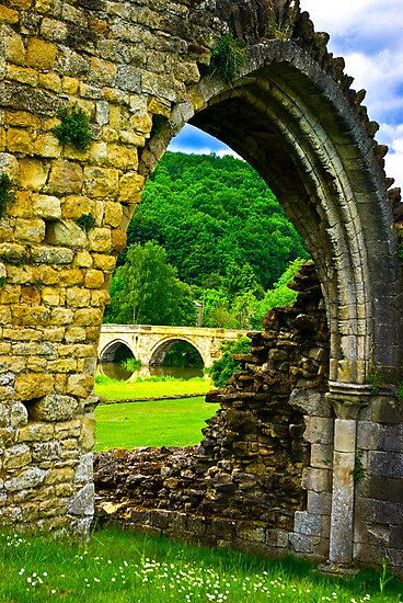 Through the Archway by Trevor Kersley