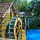 Old Watermill by Jimmy Ostgard
