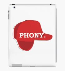 Catcher in the Rye Shirt – Holden Caufield, Phony iPad Case/Skin