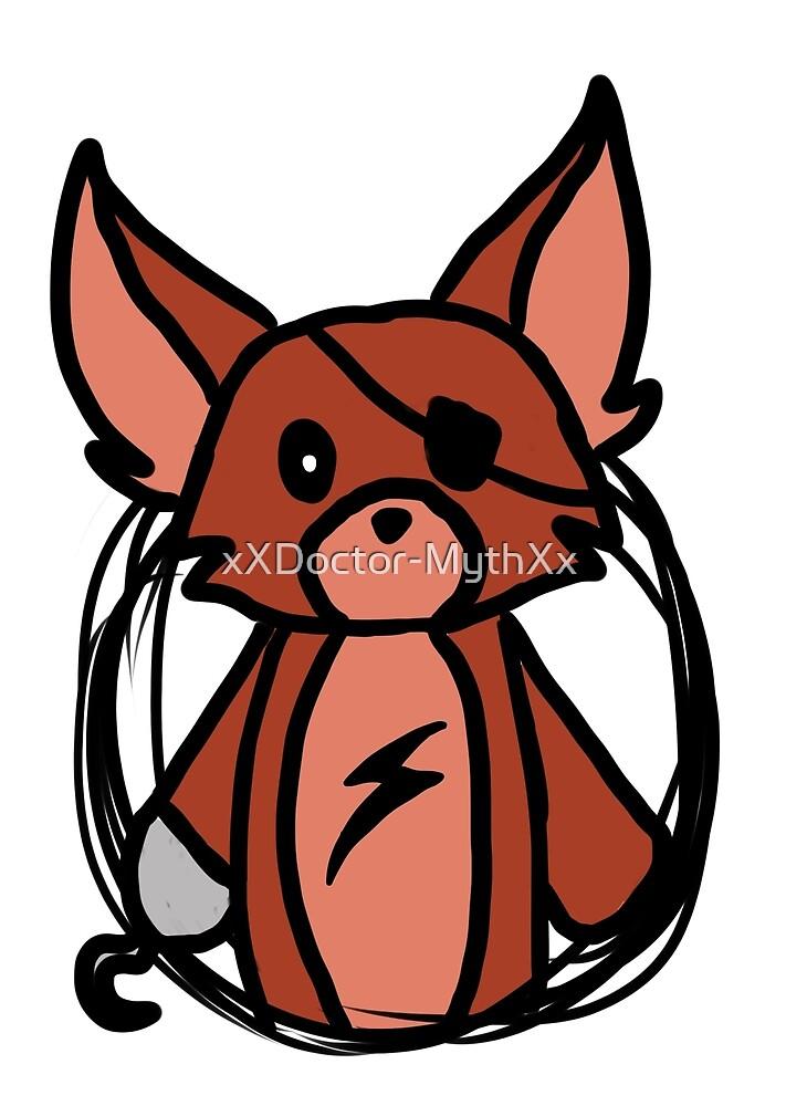 Fnaf Chibi Foxy by xXDoctor-MythXx