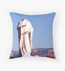 Where's My Head? by Bradley Blalock Throw Pillow