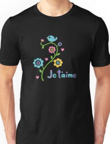 Je t'aime - I love you - dark T-Shirt