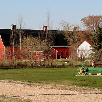Three Cupola Barn by umpa1