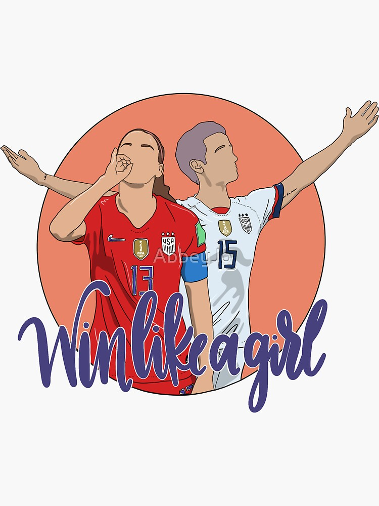 USWNT World Cup - Win Like a Girl by AbbeyJo