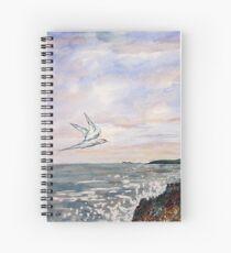 Common Tern at Benderloch Scotland Spiral Notebook
