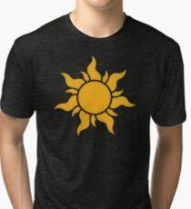 Tangled Kingdom Sun Tri-blend T-Shirt