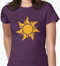 Tangled Kingdom Sun Women's Fitted T-Shirt