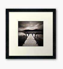 The Lake I Framed Print