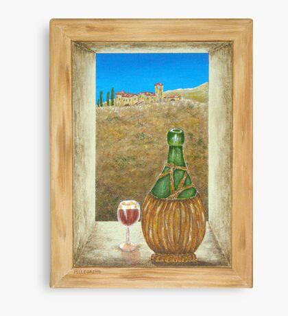 Sicilian View Canvas Print