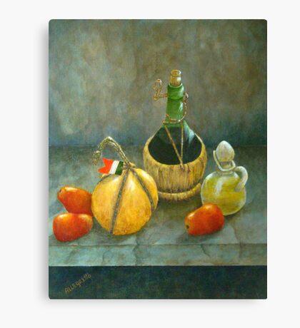 Sicilian Table Canvas Print