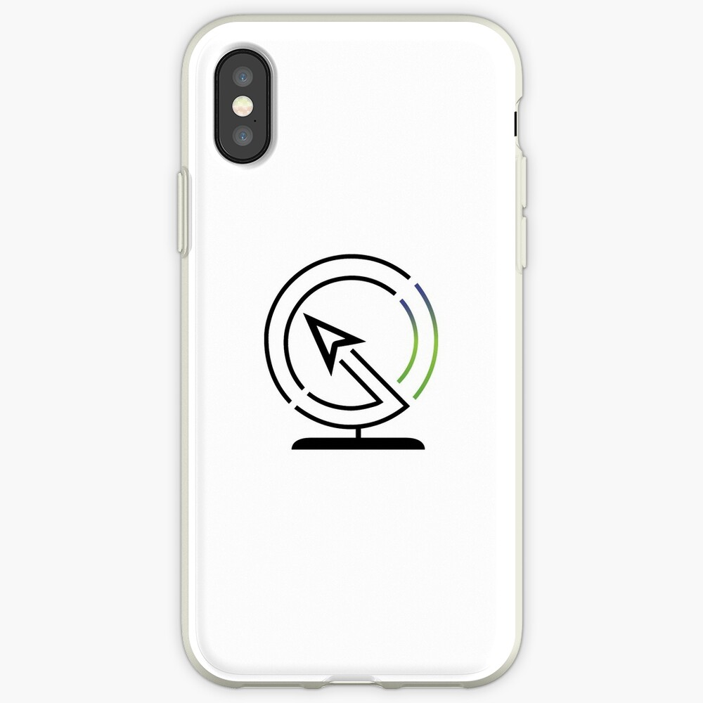 The Lost Geographer Logo iPhone Case & Cover