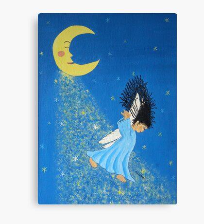 Dancing on Moonbeams Canvas Print