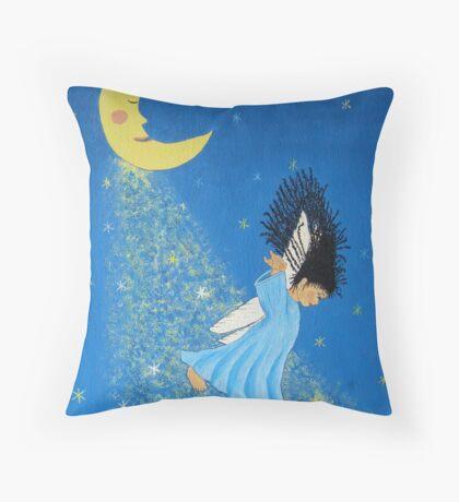 Dancing on Moonbeams Throw Pillow