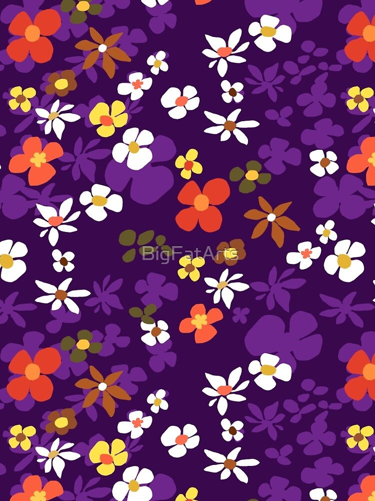 New Floral Plum by BigFatArts