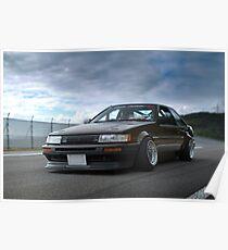 Takahashi AE86 Poster