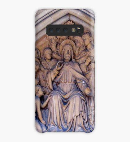 Truro Cathedral Exterior- Biblical Scene Hülle & Klebefolie für Samsung Galaxy