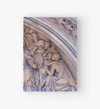 Truro Cathedral Exterior- Biblical Scene Notizbuch