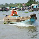Vietnam: On the Mekong by Kasia-D