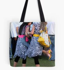 Heels at the Races Tote Bag