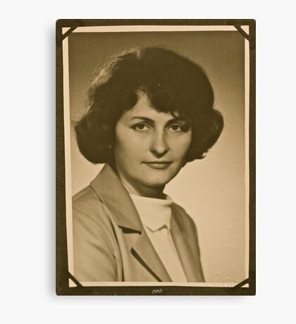 ❤‿❤ . My Mother - 1962 . Brown Sugar Life Book Story . Favorites: 2 Views: 806..  Bardzo dziękuję ! Thank you dear friends! Hold Your Memories. Buy what you like! Canvas Print