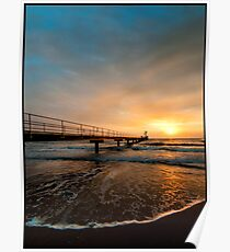 Early light, Clump Point Jetty Poster