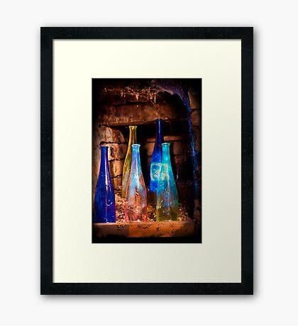 Deep Light Framed Print