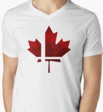 Smash Canada Men's V-Neck T-Shirt
