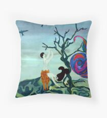 Lost Race Found Throw Pillow