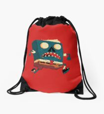 Spongebook Deadpants Drawstring Bag