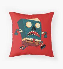 Spongebook Deadpants Throw Pillow