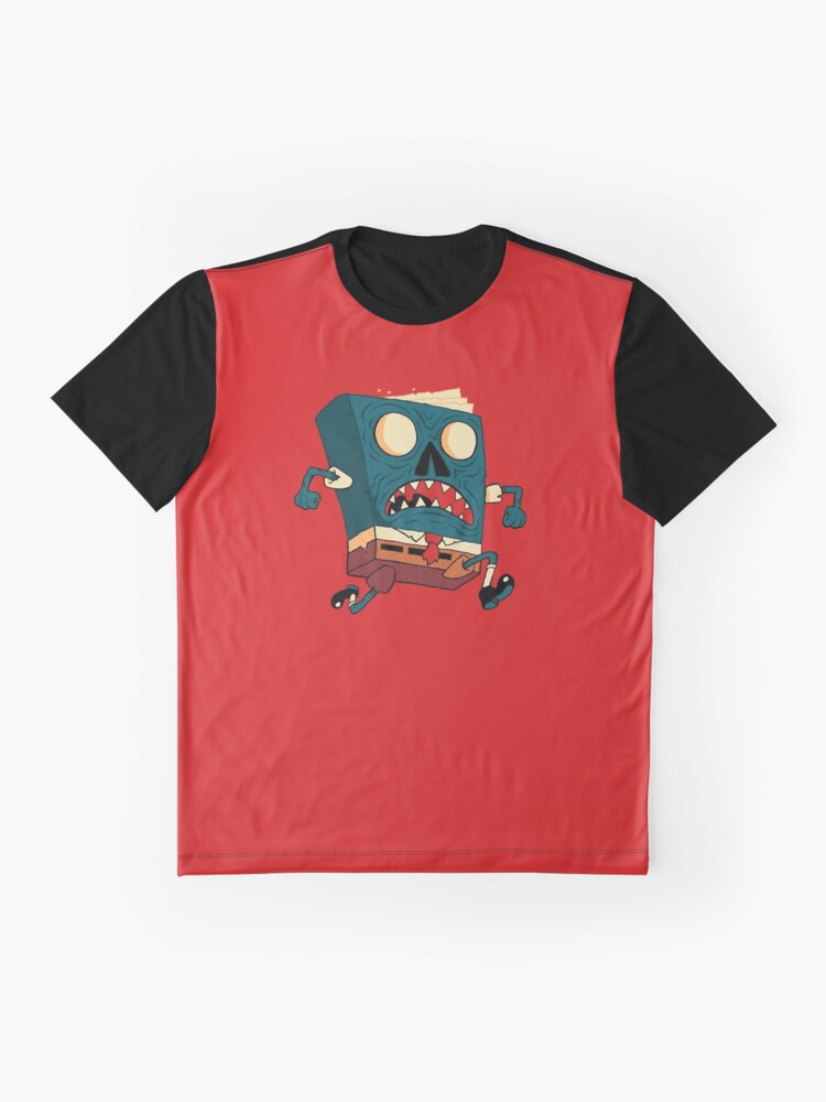 Alternate view of Spongebook Deadpants Graphic T-Shirt