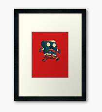 Spongebook Deadpants Framed Print