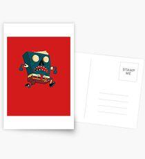 Spongebook Deadpants Postcards