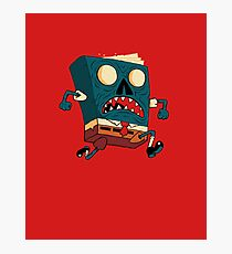 Spongebook Deadpants Photographic Print