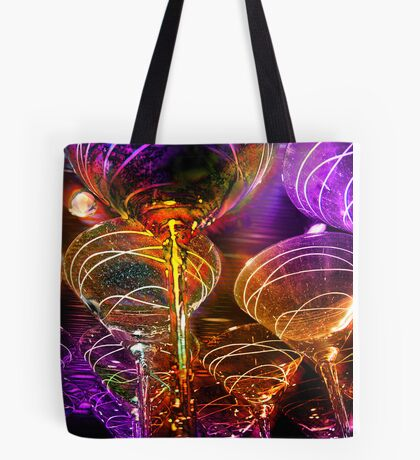 fancy martini glasses Tote Bag